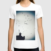morocco T-shirts featuring Morocco Rampart by Petrichor Photo