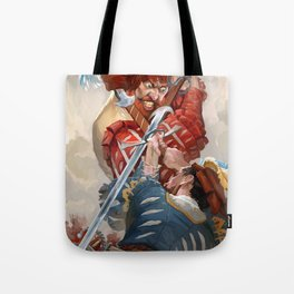 Knights fight Tote Bag