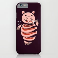 Gluttonous Cannibal Pig iPhone 6s Slim Case