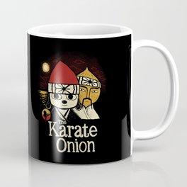 the karate onion Coffee Mug