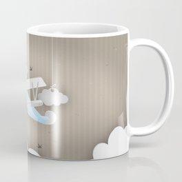 Blue Plane Ride Coffee Mug