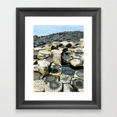 Giant's Causeway Framed Art Print