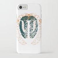 psychology iPhone & iPod Cases featuring Psychology Brain by Insean