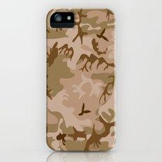 Desert Camo iPhone (5, 5s) Slim Case
