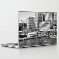 the national Laptop & iPad Skins featuring National Harbor by lauraflores013