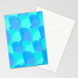 Bluesy Quilt Stationery Cards