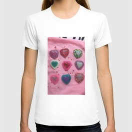 Glitter Hearts Club T-shirt