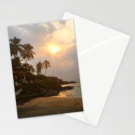 Kovalam Beach Sunset Stationery Cards