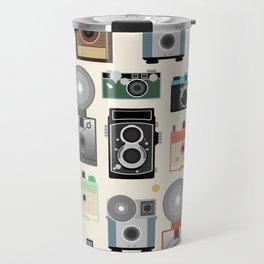 1960s Vintage Cameras Travel Mug