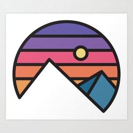Simple Morning Art Print