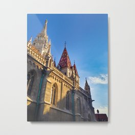 CITY PHOTOGRAPHY - BUDAPEST Matthias Church Metal Print