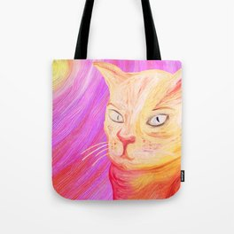 Aristocrat Cat  Tote Bag