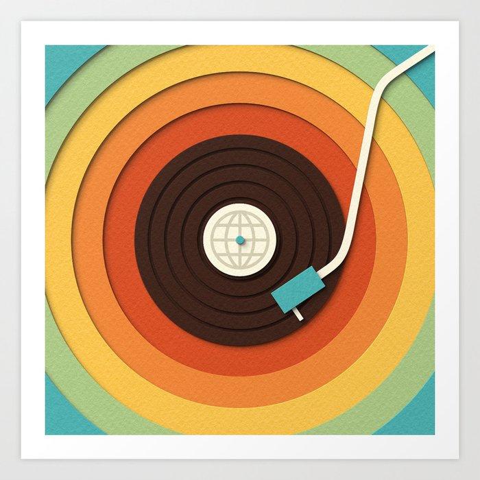 World Record Art Print