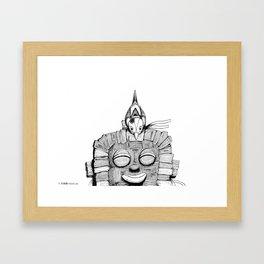 '恐怖核心與小鳥 Scarecore and Bird' Cover Illustration 2 Framed Art Print