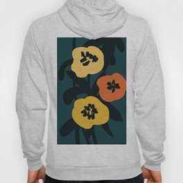 Midnight Flowers Hoody
