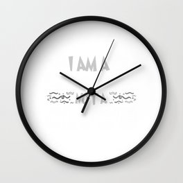 I Am A Ccomedian Not A Clown Wall Clock