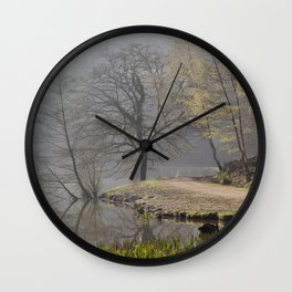 Misty Pike Wall Clock