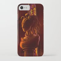 castlevania iPhone & iPod Cases featuring Castlevania: Medusa's Room by FirebornForm