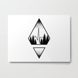 Appreciation of Nature Metal Print