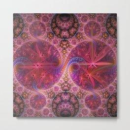 Decorative artwork with amazing curls, swirls and patterns Metal Print