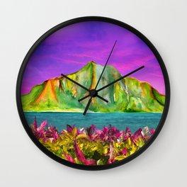 HAWAII GLOW Wall Clock
