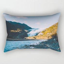 Exit Glacier - Kenai Fjords National Park Rectangular Pillow