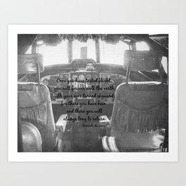 Flight Skyward Da Vinci Art Print