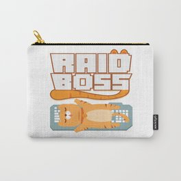 Typical Gamer Gaming Raid PC MMORPG Nerdy Gift Carry-All Pouch