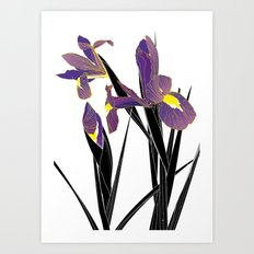 'Tell Me What To Swallow' / 'Iris' Art Print