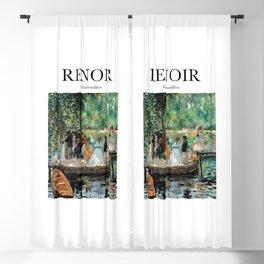 Renoir - La Grenouillère Blackout Curtain