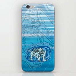 (v2) Swim Beyond Misconceptions iPhone Skin