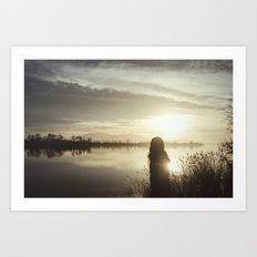 Ser de agua II Art Print