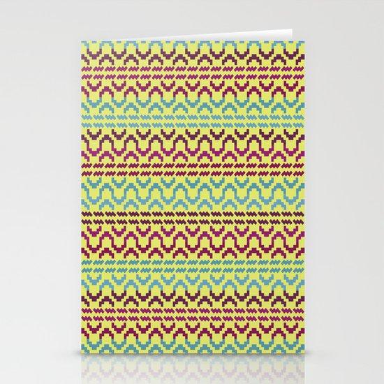 AZTEC Pattern 1-2 Stationery Cards