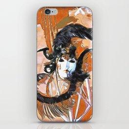 Feathered Mask Burano iPhone Skin