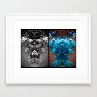 alchemy Framed Art Prints featuring Alchemy by Helemm