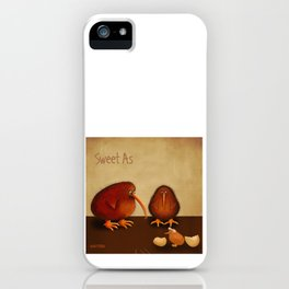 New arrival baby girl - sweet as iPhone Case
