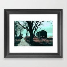 :: Road to Somewhere :: Framed Art Print