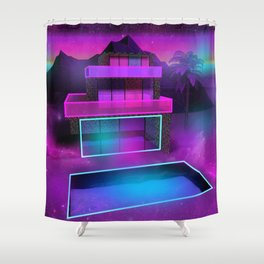 Glass Home Shower Curtain