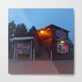 Quirky coffee stand Metal Print