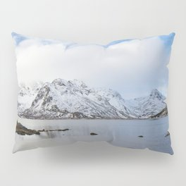 The Red Shed Panorama Pillow Sham