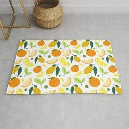 Citrus Fruits - Oranges and Lemons Original Rug