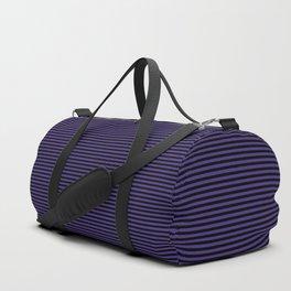 Gothic purple stripes Duffle Bag