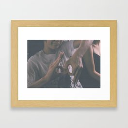 69 Framed Art Print