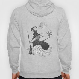 Black and White Witch Hoody