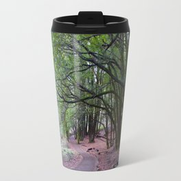the mossy path Travel Mug