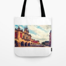 Cracow Main Square Old Town Tote Bag