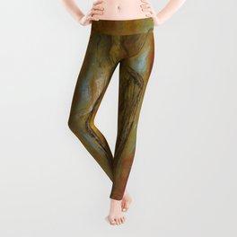 womanJapanese painting Leggings