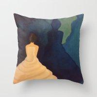 bride Throw Pillows featuring Bride by Shomos