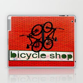 Bicycle Shop Laptop & iPad Skin