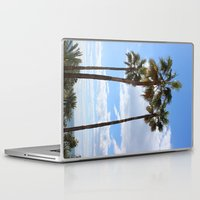 palm trees Laptop & iPad Skins featuring Palm Trees by Rebecca Bear